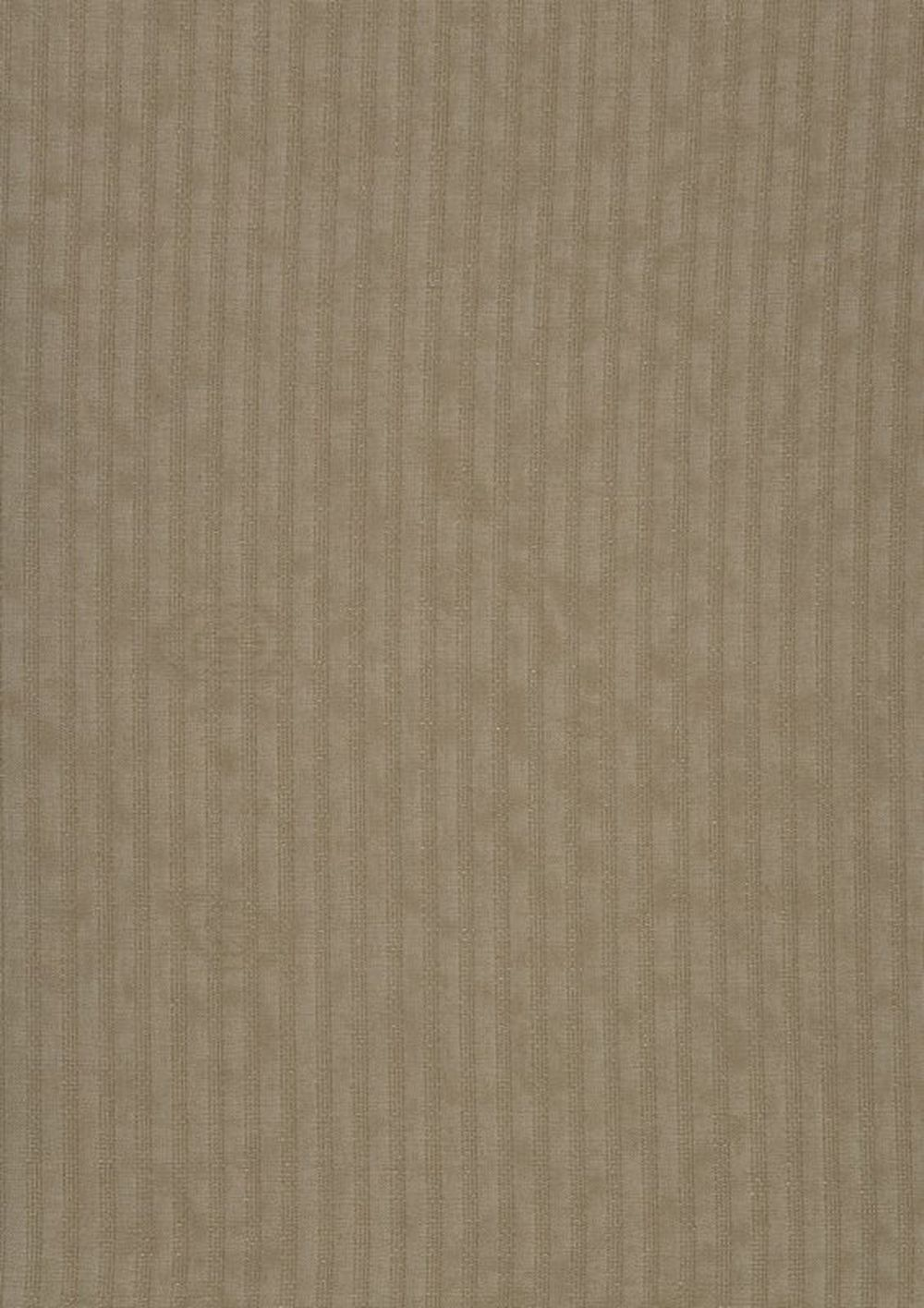 Photo of the fabric Crystal FR-One Taupe swatch by FR-One. Use for Curtains, Accessory. Style of Pattern, Stripe