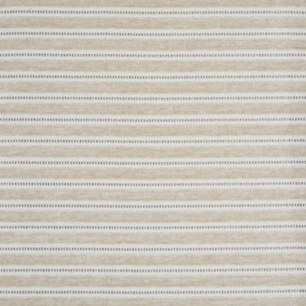 Photo of the fabric Links Pearl swatch by Zepel. Use for Curtains, Upholstery Medium Duty, Accessory, Top of Bed. Style of Pattern, Stripe