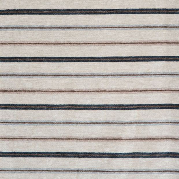 Photo of the fabric Studio Pearl swatch by Zepel. Use for Curtains, Upholstery Medium Duty, Accessory, Top of Bed. Style of Pattern, Stripe