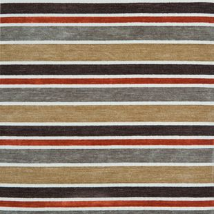 Photo of the fabric Hub Earthstone swatch by Zepel. Use for Drapery, Upholstery Medium Duty, Accessory, Top of Bed. Style of Pattern, Stripe