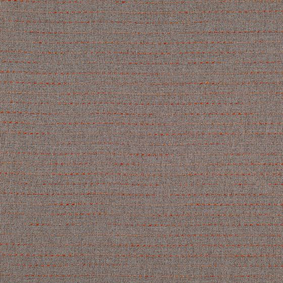 Photo of the fabric Oscillate Sienna swatch by FR-One. Use for Curtains. Style of Plain, Sheer, Texture