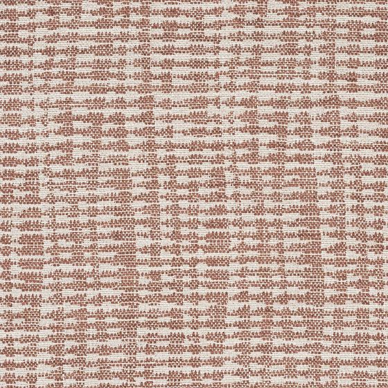 Photo of the fabric Mikko Coral swatch by Zepel. Use for Upholstery Medium Duty, Accessory. Style of Pattern, Stripe, Texture
