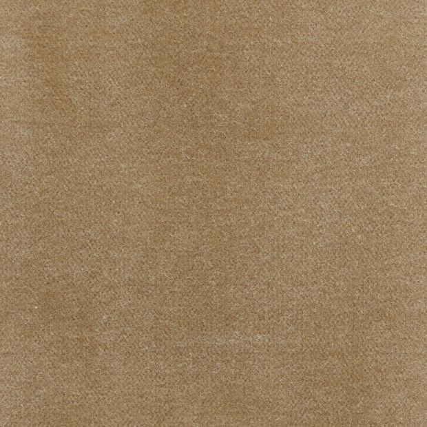Photo of the fabric Lux Velvet Caramel 8309 swatch by Zepel. Use for Upholstery Heavy Duty, Accessory. Style of Plain