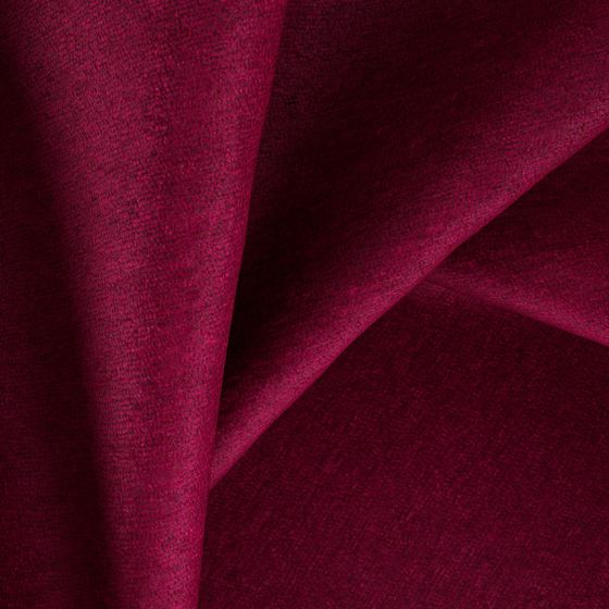 Photo of the fabric Baron Passion swatch by Zepel FibreGuard. Use for Curtains, Upholstery Heavy Duty, Accessory, Top of Bed. Style of Plain, Velvet
