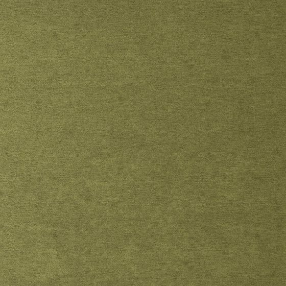 Photo of the fabric Baron Olive swatch by Zepel FibreGuard. Use for Curtains, Upholstery Heavy Duty, Accessory, Top of Bed. Style of Plain, Velvet