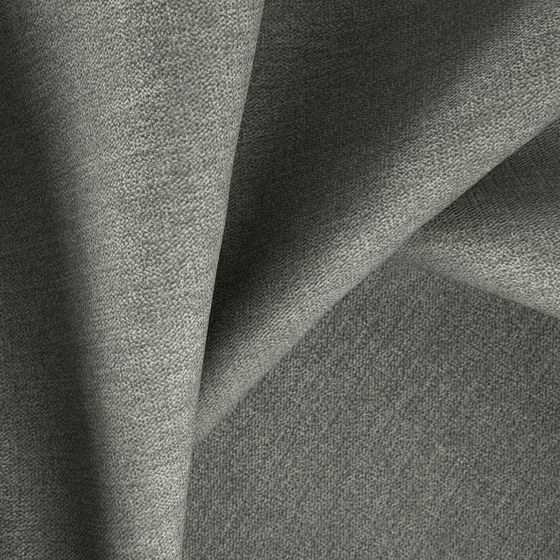 Photo of the fabric Cushion Smoke swatch by Zepel. Use for Curtains, Upholstery Medium Duty, Accessory, Top of Bed. Style of Plain, Velvet