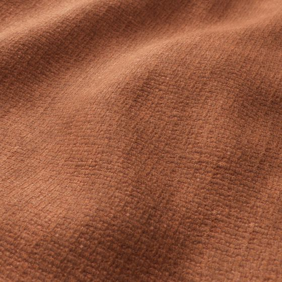 Photo of the fabric Cormo Rust swatch by Zepel FibreGuard. Use for Upholstery Medium Duty, Accessory, Top of Bed. Style of Plain, Texture