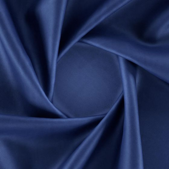 Photo of the fabric Warlock Velvet Navy swatch by Zepel. Use for Curtains, Upholstery Heavy Duty, Accessory, Top of Bed. Style of Plain, Velvet