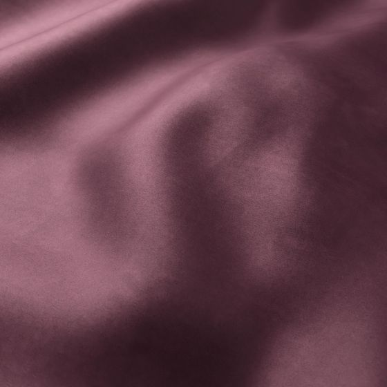 Photo of the fabric Warlock Velvet Aubergine swatch by Zepel. Use for Curtains, Upholstery Heavy Duty, Accessory, Top of Bed. Style of Plain, Velvet
