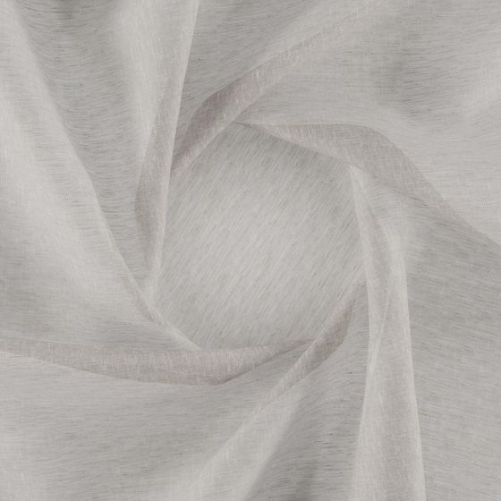Photo of the fabric Allusion Linen swatch by Zepel. Use for Sheer Curtains. Style of Plain, Sheer