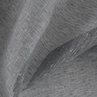 Photo of the fabric Allusion Liquorice swatch by Zepel. Use for Sheer Curtains. Style of Plain, Sheer