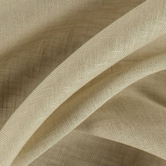 Photo of the fabric Allusion Putty swatch by Zepel. Use for Sheer Curtains. Style of Plain, Sheer