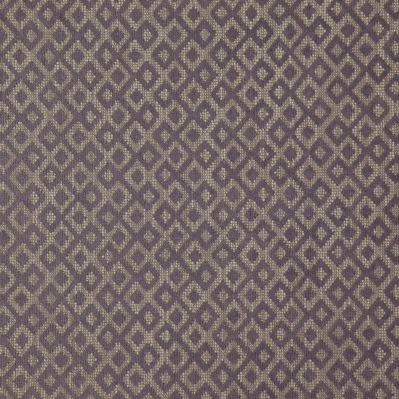 Photo of the fabric Daytona Grape swatch by Zepel FibreGuard. Use for Curtains, Upholstery Medium Duty, Accessory, Top of Bed. Style of Decorative, Geometric, Pattern