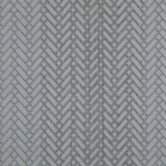 Photo of the fabric Laneway Cloud swatch by FR-One. Use for Curtains, Upholstery Medium Duty, Accessory, Top of Bed. Style of Geometric, Pattern