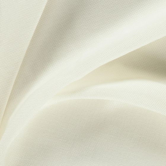 Photo of the fabric Lighten Cream swatch by FR-One. Use for Sheer Curtains. Style of Plain, Sheer, Texture