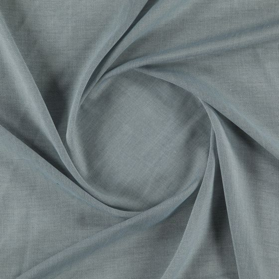 Photo of the fabric Lighten Ocean swatch by FR-One. Use for Sheer Curtains. Style of Plain, Sheer, Texture