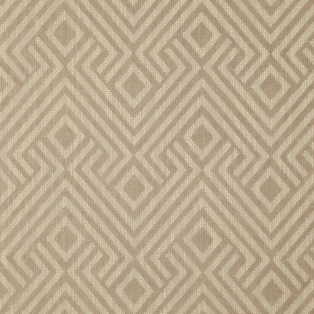 Photo of the fabric Lucie Angora swatch by Zepel FibreGuard. Use for Curtains, Upholstery Medium Duty, Accessory, Top of Bed. Style of Decorative, Geometric, Pattern