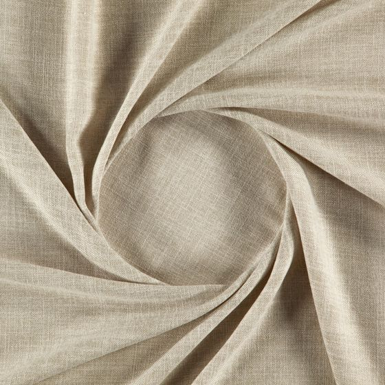 Photo of the fabric Motion Sand swatch by Zepel. Use for Sheer Curtains. Style of Plain, Sheer, Texture