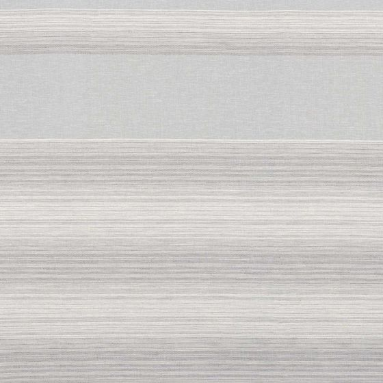 Photo of the fabric Nicoya Gris swatch by Zepel. Use for Sheer Curtains. Style of Decorative, Pattern, Sheer, Stripe