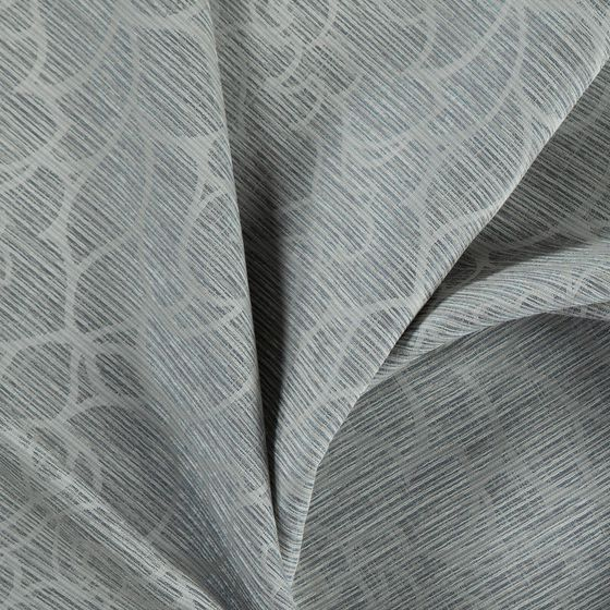 Photo of the fabric Opal Dove swatch by FR-One. Use for Curtains, Accessory. Style of Damask, Decorative, Pattern, Traditional