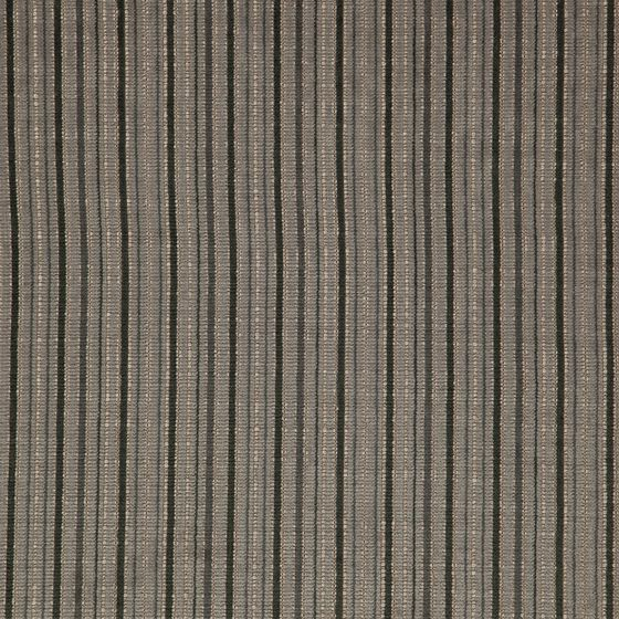 Photo of the fabric Oviedo Fog swatch by Zepel FibreGuard. Use for Curtains, Upholstery Heavy Duty, Accessory, Top of Bed. Style of Decorative, Pattern, Stripe