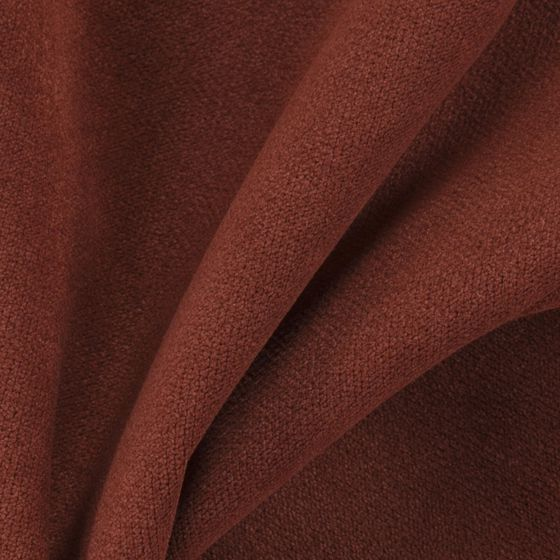 Photo of the fabric Peak Auburn swatch by Zepel FibreGuard. Use for Upholstery Medium Duty, Accessory. Style of Plain