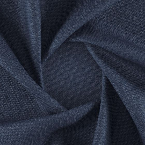 Photo of the fabric Rocco Indigo swatch by FibreGuard. Use for Upholstery Heavy Duty, Accessory. Style of Plain, Texture