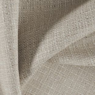 Photo of the fabric Spartacus Sesame swatch by Fibreguard Pro. Use for Upholstery Medium Duty, Accessory, Top of Bed. Style of Plain, Texture