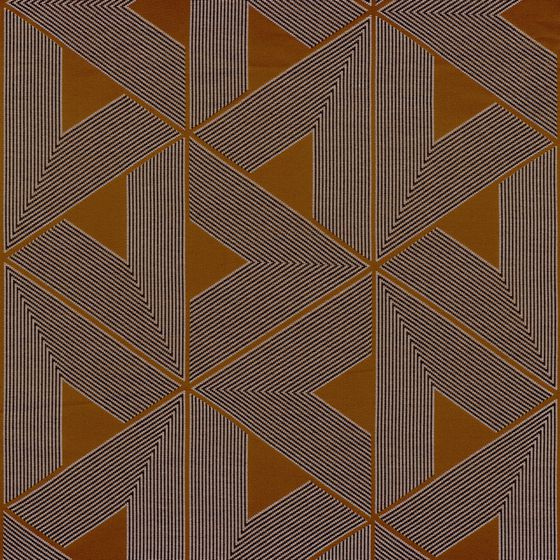 Photo of the fabric Raspail 4391 4391 05 02 swatch by Casamance. Use for Curtains, Upholstery Heavy Duty, Accessory. Style of Decorative, Geometric, Pattern