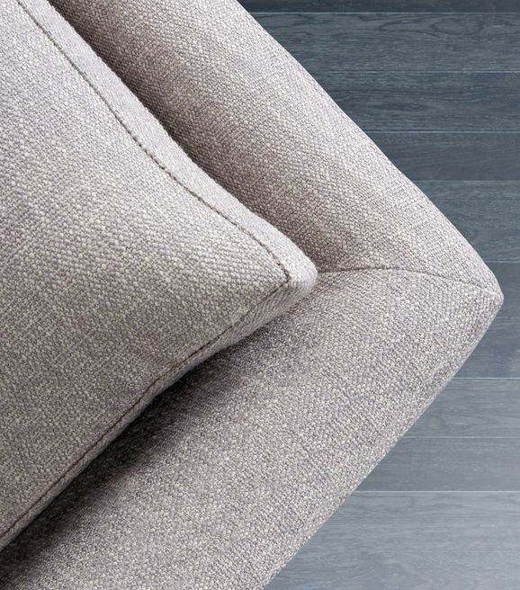 Photo of the fabric Weave Fossil in situ by Zepel. Use for Upholstery Heavy Duty, Accessory. Style of Plain, Texture