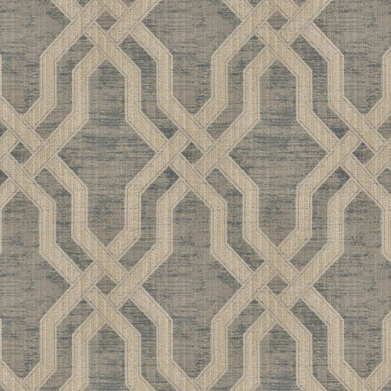 Photo of the fabric Modus Plaza swatch by Zepel. Use for Curtains, Accessory, Top of Bed. Style of Decorative, Geometric, Pattern