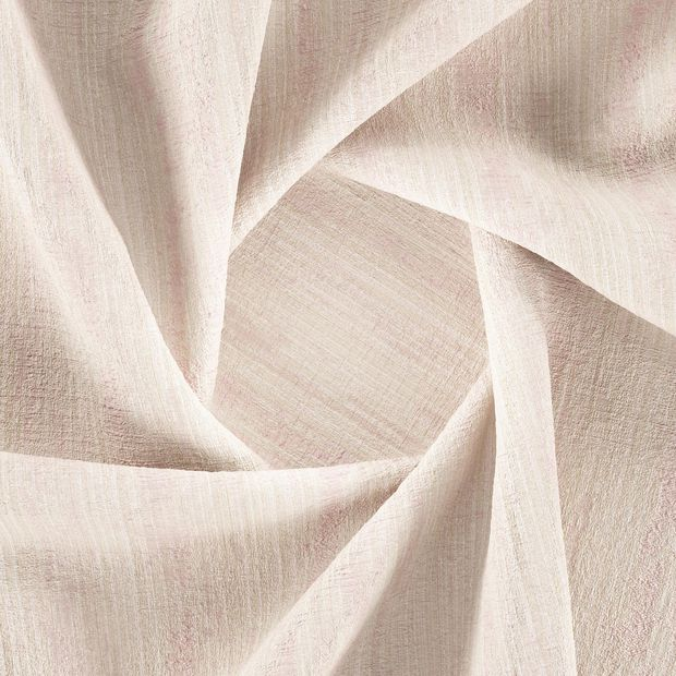 Photo of the fabric Stripia Blossom swatch by Zepel. Use for Curtains, Accessory, Top of Bed. Style of Decorative, Plain, Texture